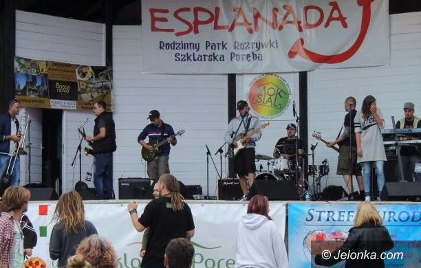 Szklarska Poręba: Letni koncert reggae w Esplanadzie