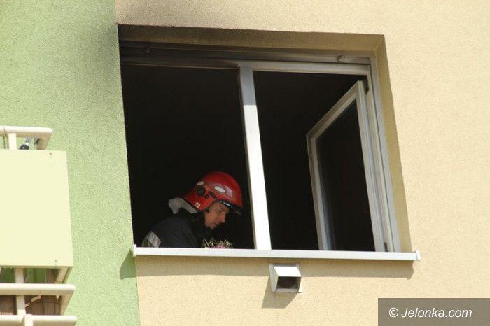 Jelenia Góra: Pożar mieszkania na Obrońców Pokoju