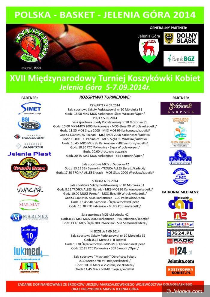 """Jelenia  Góra: Rusza międzynarodowy turniej koszykówki """"Polska Basket"""""""