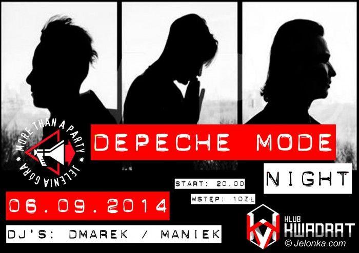 Jelenia Góra: Depeche Mode Night w Kwadracie