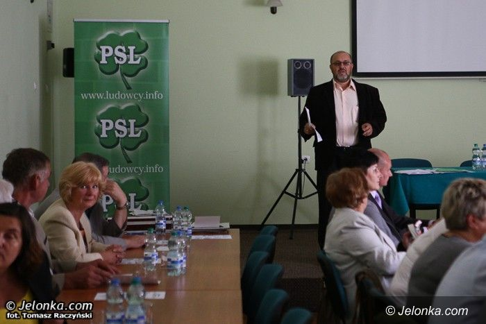 Jelenia Góra: Konflikt w PSL nie ustaje, Roman Kuty odbił piłeczkę