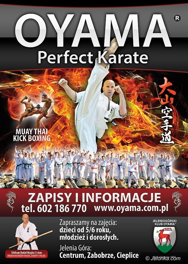 Jelenia Góra: Nabór do klubu Oyama Karate