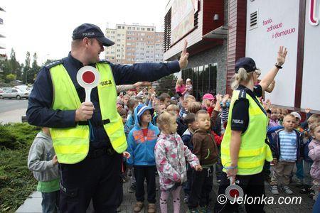 Jelenia Góra: Dzieci na lekcji bezpieczeństwa