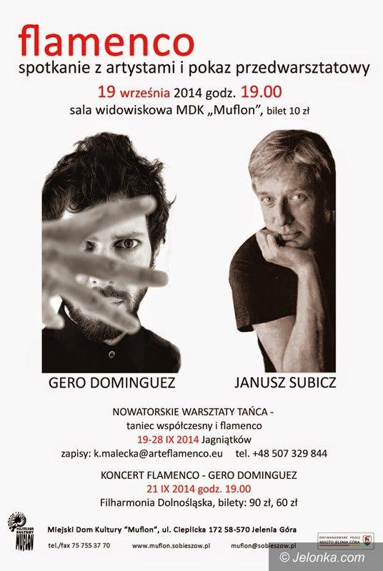 """Jelenia Góra: Gero Dominguez i Janusz Subicz w """"Muflonie"""""""