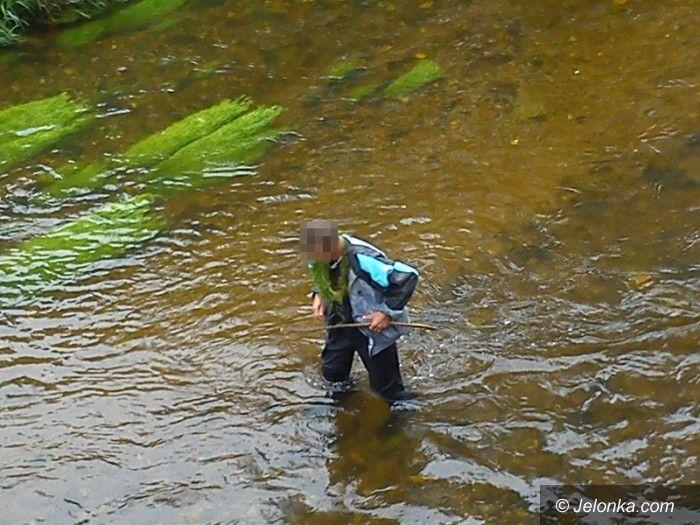 Jelenia Góra: Uciekał przed karą… przez rzekę