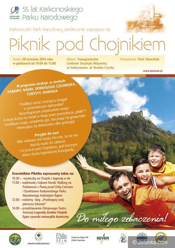 Jelenia Góra: Wędrówki z kijkami i piknik pod Chojnikiem w sobotę