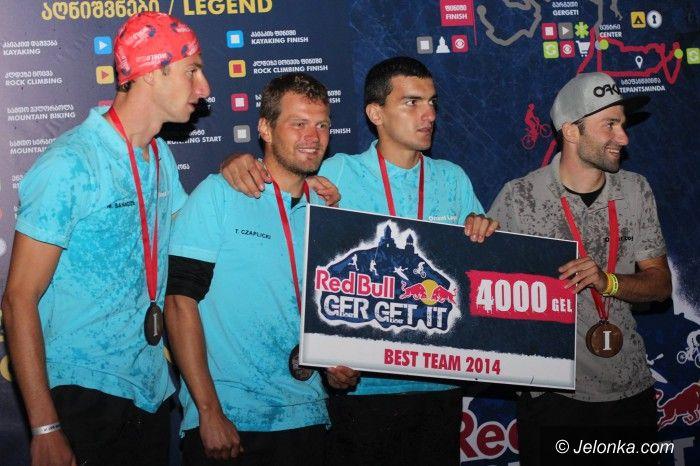 Gruzja: Tomasz Czaplicki wraz z przyjaciółmi zatriumfował w Red Bull GerGetIt