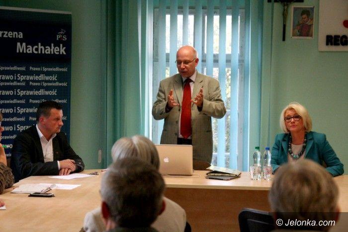 """Jelenia Góra: Maciej Świrski (""""szczurbiurowy"""") w Jeleniej Górze"""