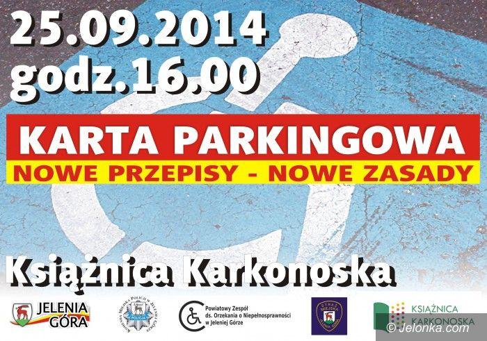Jelenia Góra/Region: Ważne spotkanie o kartach parkingowych