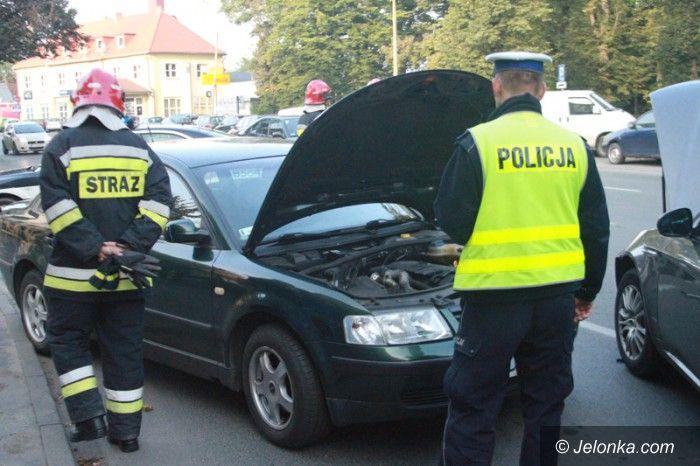 Jelenia Góra: Zderzenie trzech aut i autobusu