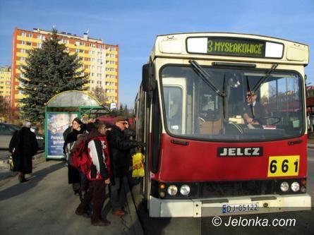 Jelenia Góra: 1. listopada autobusem miejskim za darmo!
