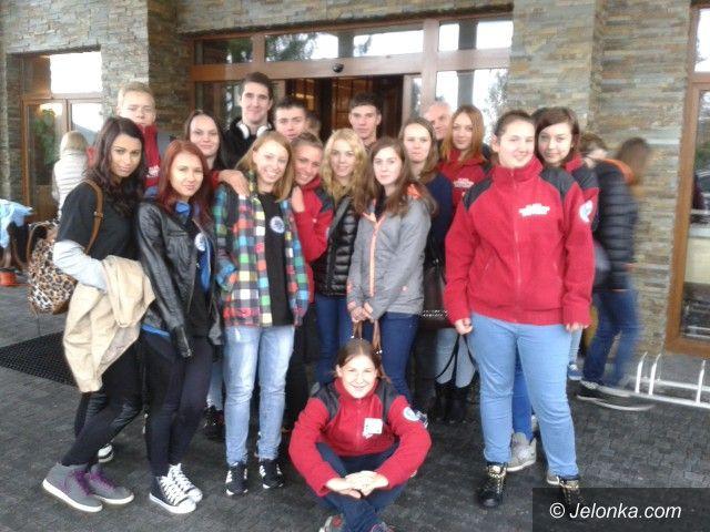 Karpacz: Uczniowie z Piechowic na konferencji służb ratowniczych