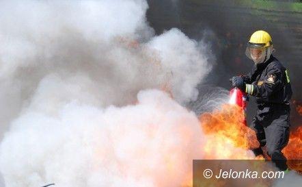 Jelenia Góra: Pożar na Wyczółkowskiego. Mieszkańcy ewakuowani