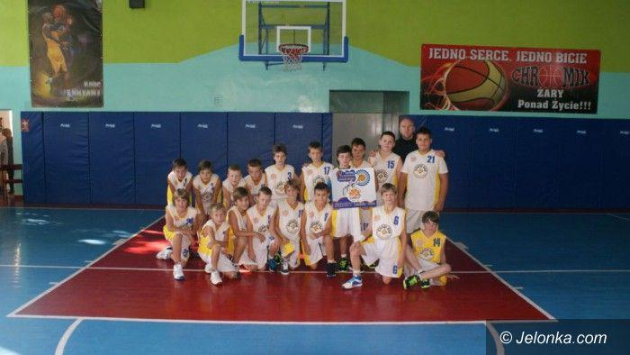 Żary: Drugie miejsce mini–koszykarzy Sudetów w Żarach