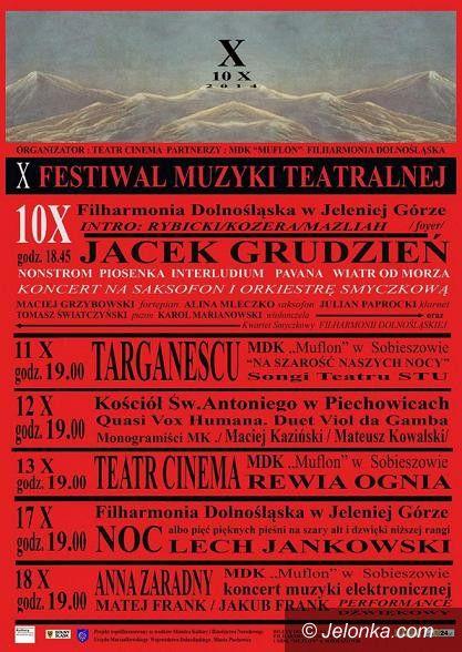 Jelenia Góra: Od piątku X Festiwal Muzyki Teatralnej