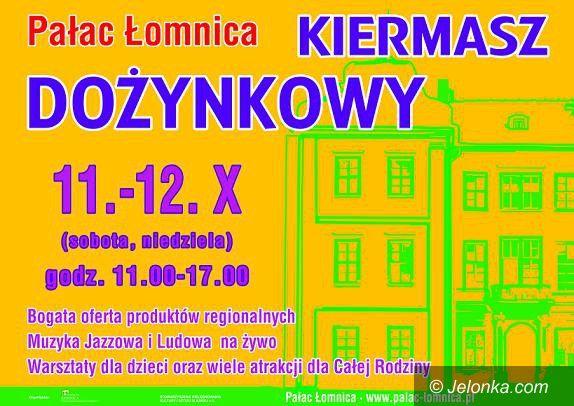 Region: Folwarczny kiermasz dożynkowy przy Pałacu Łomnica