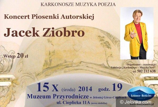 Jelenia Góra: Wieczór z piosenkami Jacka Ziobro