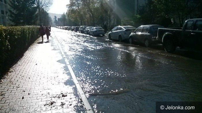 Jelenia Góra: Awaria wody na Paderewskiego
