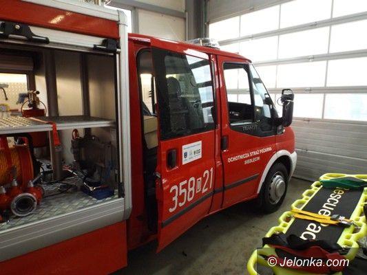 Region: Nowy samochód ratowniczo–gaśniczy dla OSP w Siedlęcinie