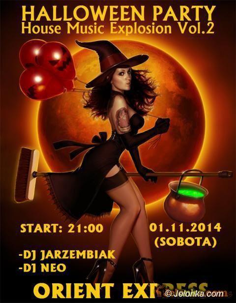Jelenia Góra: Halloween Party w Orient Expressie