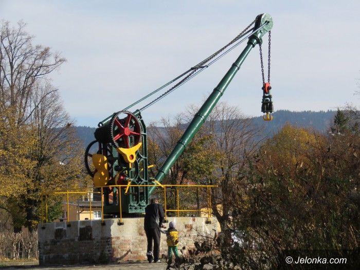 Kowary: Żuraw kolejowy uratowany od zapomnienia