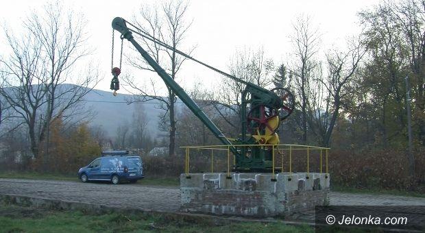 Jelenia Góra: Zabytkowy kowarski dźwig został wyremontowany