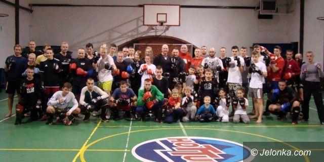 Borowice: Klubowe zgrupowanie kickboxerów w Borowicach