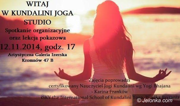 Region: Darmowa lekcja jogi w Kromnowie