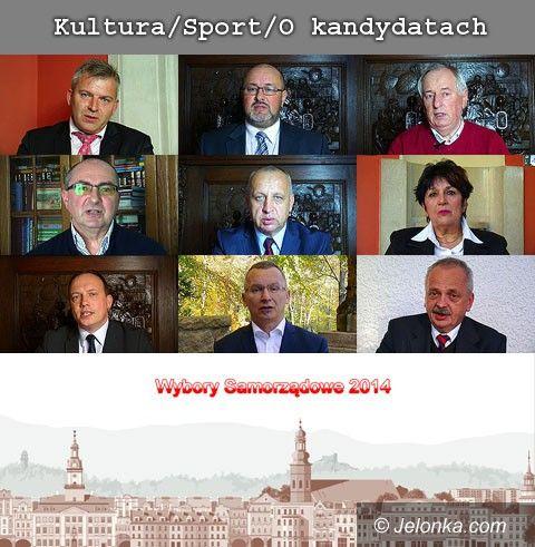 Jelenia Góra: Kandydaci odpowiadają! Kultura/Sport/O kandydatach, cz.3/4