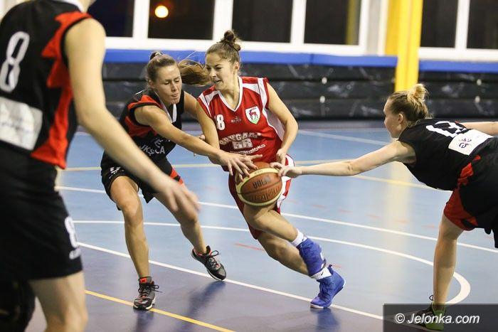 Jelenia Góra: II–liga koszykarek: powtórka sprzed tygodnia