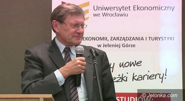 Jelenia Góra: Wykład Leszka Balcerowicza