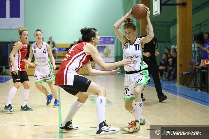 Jelenia Góra: I–liga koszykarek: porażka po walce