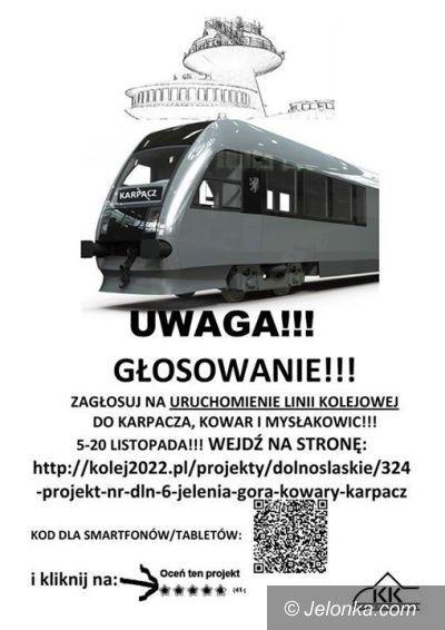 Region: Do wygrania pieniądze na remont torów do Karpacza, Kowar i nie tylko