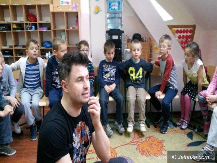 Jelenia Góra: Dzieci o emocjach z Igorem Kwiatkowskim