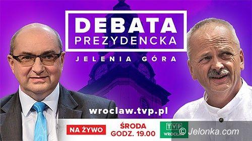 Jelenia Góra: Na Jelonce.com debata prezydencka na żywo