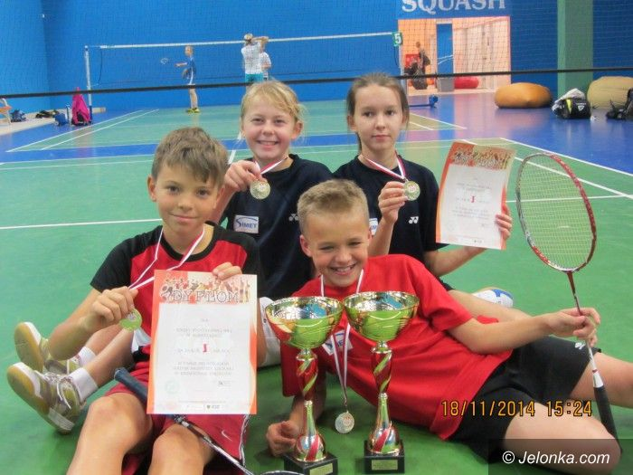 """Region: Jeleniogórska """"Trójka"""" mistrzem Dolnego Śląska w badmintonie"""