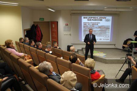 "Jelenia Góra: ""Bezpieczny senior"" – debata społeczna"