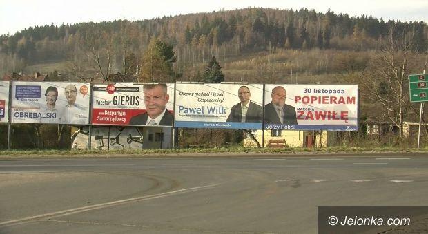 Jelenia Góra: Awantura o wyborcze plakaty