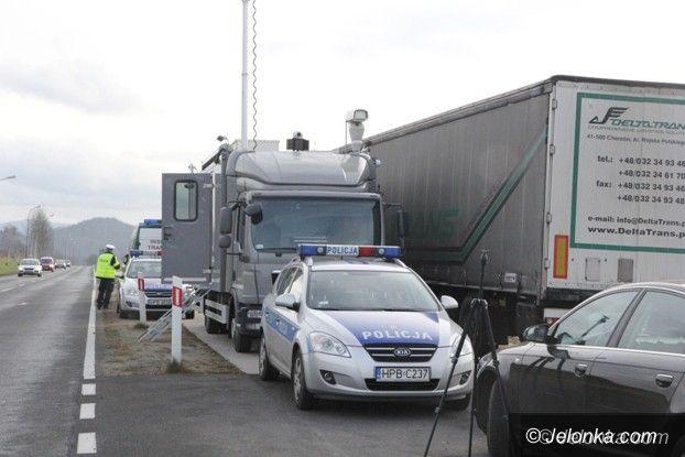 """Jelenia Góra: Akcja """"Truck"""" – sypią się mandaty"""