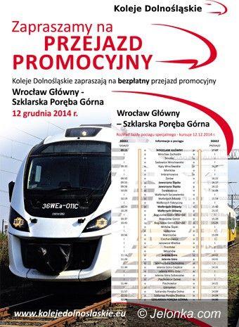 Region: Koleje Dolnośląskie zapraszają na bezpłatny przejazd