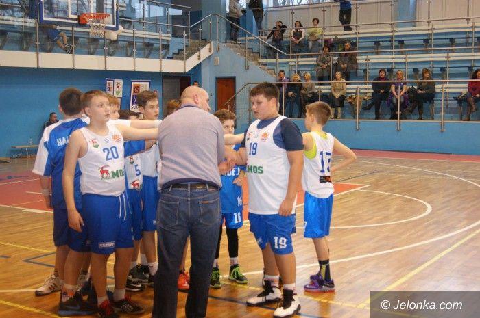 Jelenia Góra: Mini–koszykarze Sudetów wygrywają Turniej Noworoczny