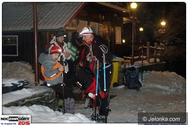 Region: Nocą zdobyli Szrenicę. Wkrótce kolej na Śnieżkę