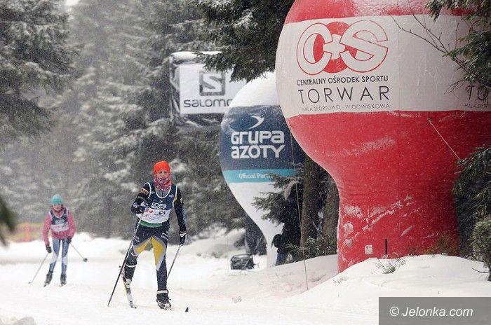 Szklarska Poręba: Jakuszyce przywitały biegaczy świeżym śniegiem