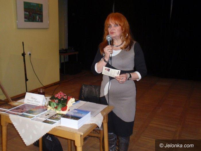 Jelenia Góra: Dotknięcie Muzy i tulipany dla Wiesławy Siemaszko–Zielińskiej