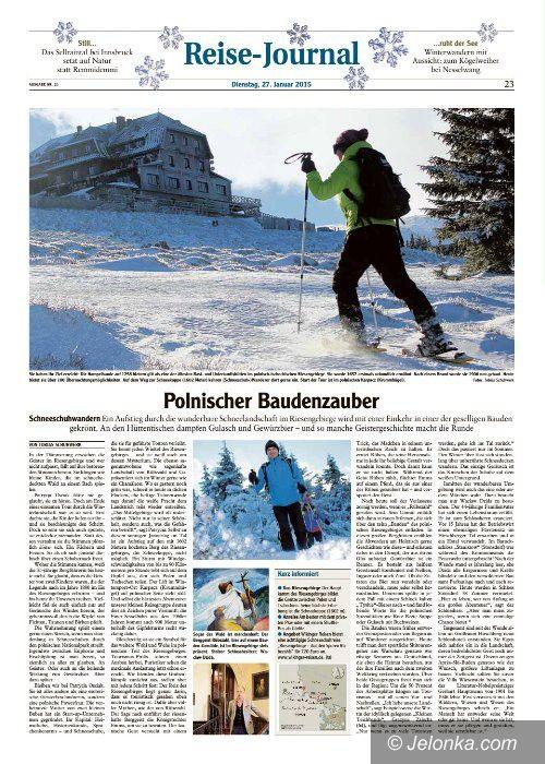 Powiat: Zagraniczni dziennikarze promują  Karkonosze