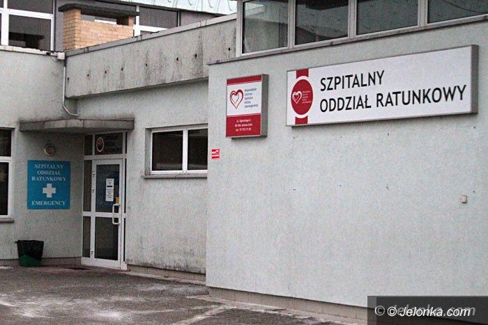 Jelenia Góra: Nasi ratownicy wyprowadzili pacjenta z hipotermii