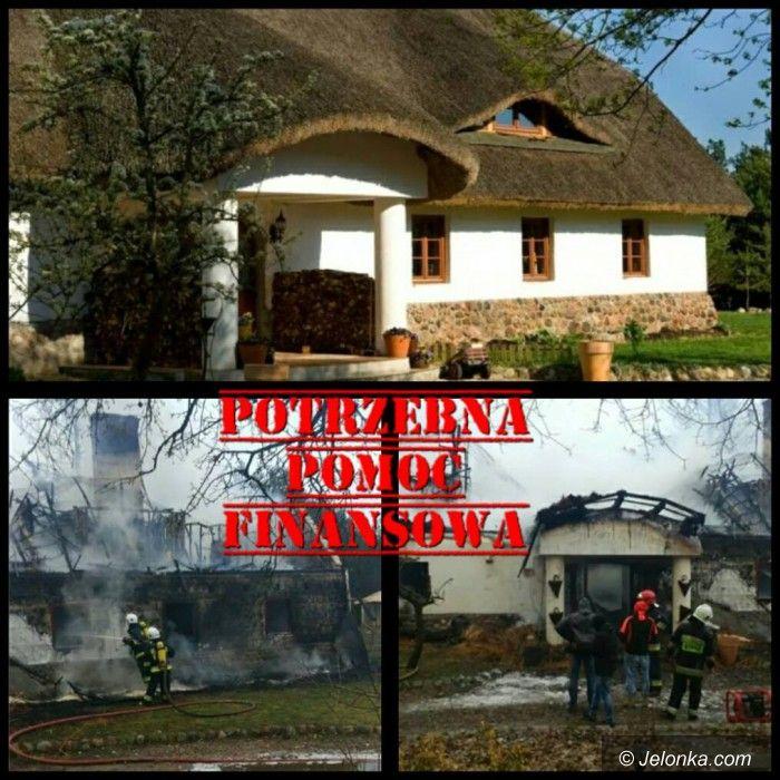 Kraj: Pożar zabrał dom, miejsce pracy i marzenia kajakarzy z Zielenina na Pomorzu