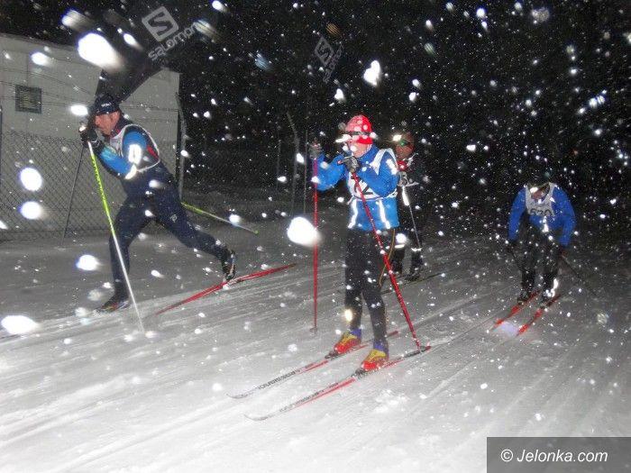 Polana Jakuszycka: Nocne ściganie w śnieżnej zadymce