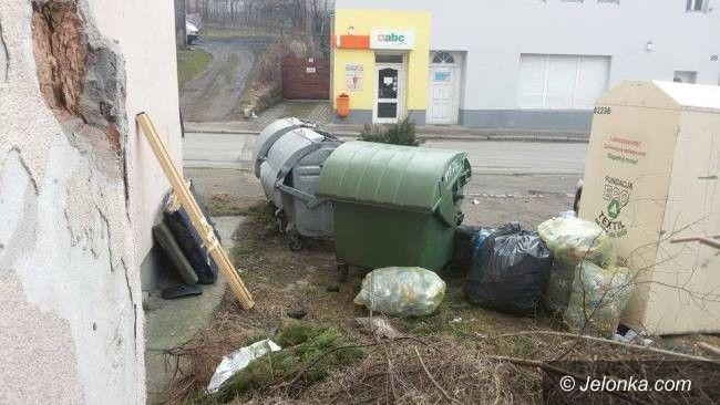 Jelenia Góra: Czytelnik: jak długo mam żyć wśród śmieci?