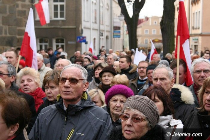Jelenia Góra: Uczcili pamięć żołnierzy wyklętych